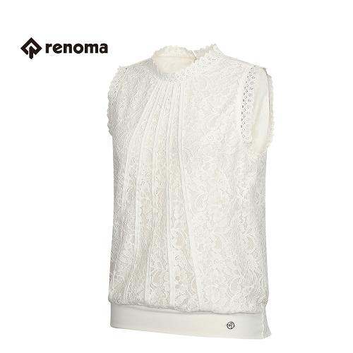 [레노마골프] 여성 레이스 민소매 티셔츠 RWTSG6123-100
