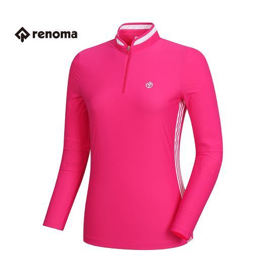 [레노마골프]여성 기능성 져지 반집업 티셔츠 RWTRH5113-403