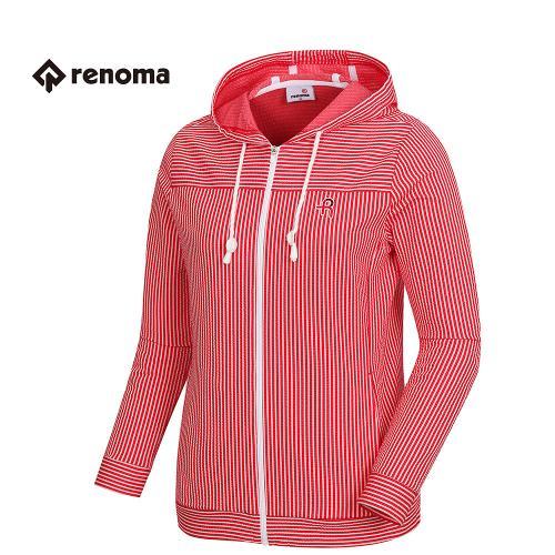 [레노마골프]여성 후드 스트라이프 티셔츠 RWTCH5115-500