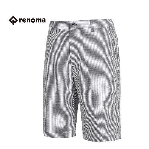 [레노마골프] 남성 스트라이프 패턴 반 바지 RMPSG2516-120