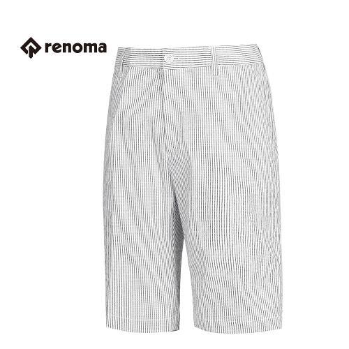 [레노마골프] 남성 스트라이프 패턴 반 바지 RMPSG2516-100