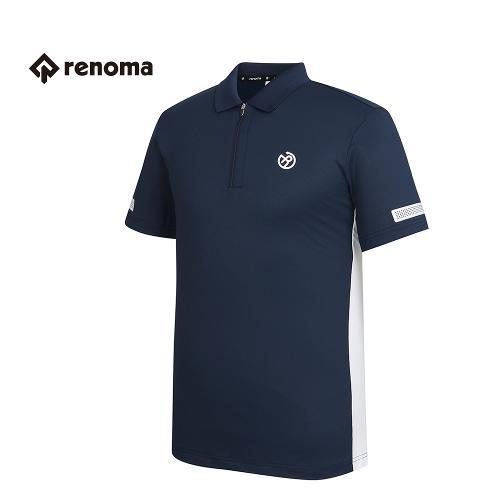 [레노마골프] 남성 배색 카라 반집업 티셔츠 RMTPG2125-120