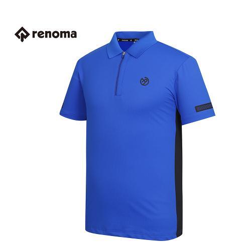 [레노마골프] 남성 배색 카라 반집업 티셔츠 RMTPG2125-110