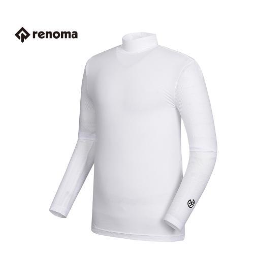 [레노마골프] 남성 심플 반목 티셔츠 RMTHG2128-100