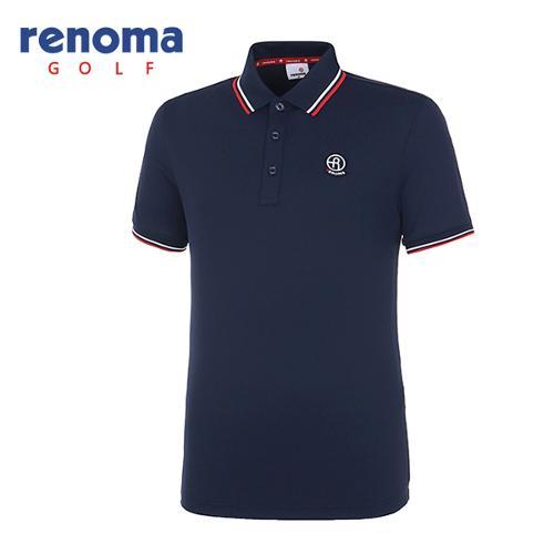 [레노마골프]남성 솔리드 반팔 티셔츠 RMTPH2101-915