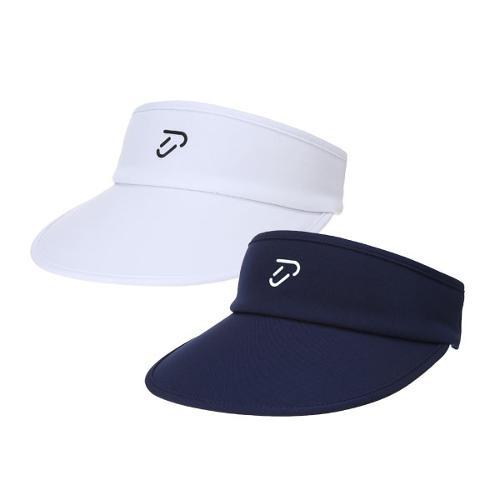 이안폴터 디자인 여성 칼라 배색 썬캡 모자 - 3602-214-82