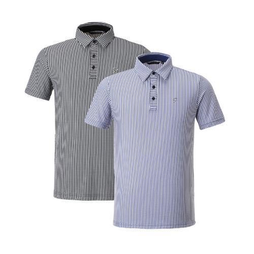 이안폴터 디자인 남성 스트라이프 반팔 티셔츠 - 3602-101-67