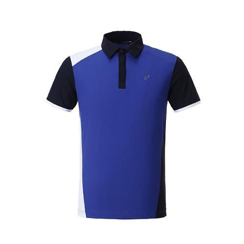 이안폴터 디자인 남성 삼색 블럭 반팔 티셔츠 - 3602-101-66