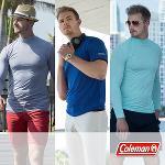 [콜맨] 스판덱스 COOL 냉감 남성 티셔츠 3종 택1/골프웨어_250025