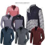[쟌피엘] 답답한 옷은 그만! 하프집업 스타일로 편안한 남성 긴팔티셔츠 특가 3종 택일