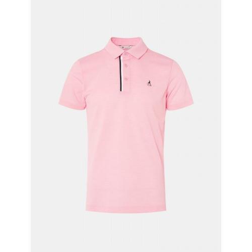 [빈폴골프] 남성 핑크 클래식 에센셜 칼라 티셔츠 (BJ0342B23X)
