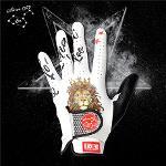 블랙레벨 별자리 레오 세계최초 프리미엄 올양피 디자인 골프 장갑