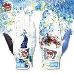 블랙레벨 새벽의공작새 세계최초 프리미엄 올양피 디자인 골프 장갑