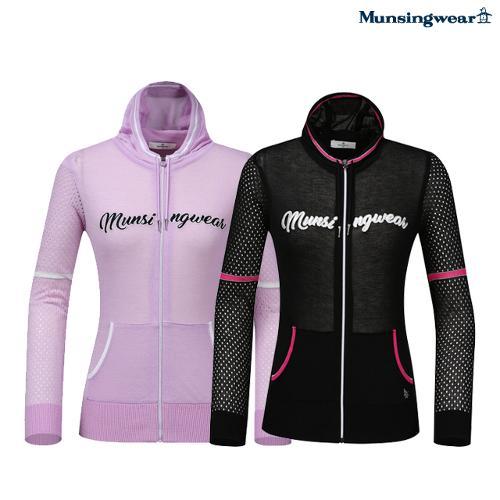 [먼싱웨어] [20SS]여성 미니 후드 여름성 스웨터 점퍼 (M0222LSJ41)