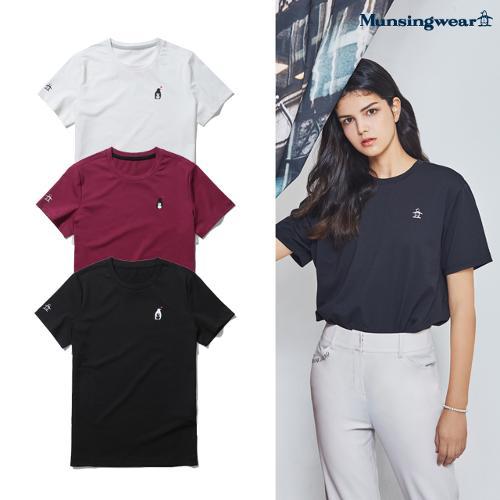 [먼싱웨어] [20SS] 여성 세이브 더 펭귄 반팔 티셔츠 (M0222LTS50)