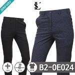 [LUSEN] 루센 나염 포인트 숨김밴딩 스판 골프팬츠 Model No_B2-0E024