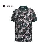 [레노마골프]남성 패턴 나염 카라 반팔 티셔츠 RMTPG2134-131_G