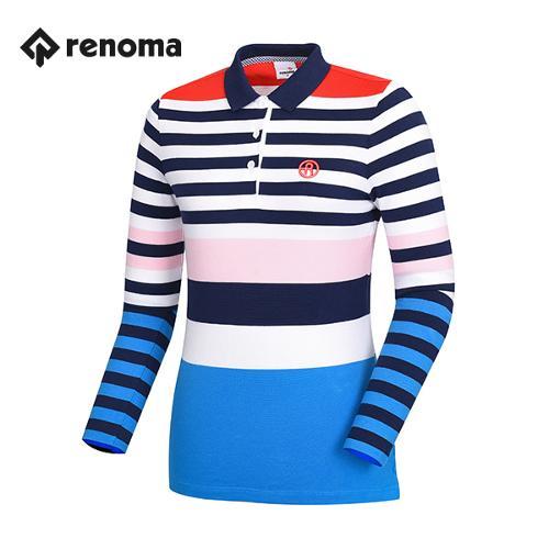 [레노마골프]여성 포인트 카라 티셔츠 RWTPG5102-110_G