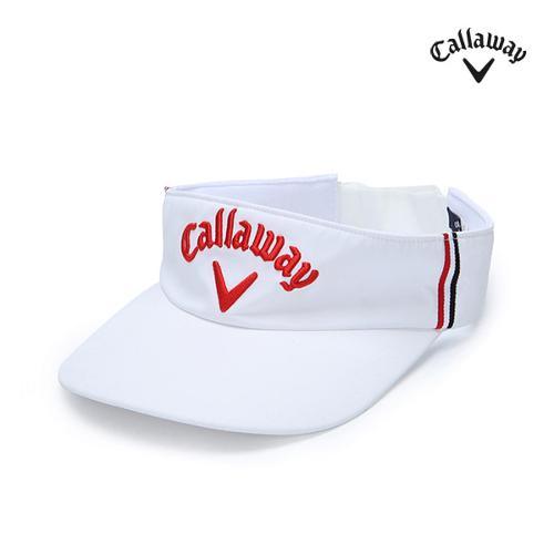 [캘러웨이]남성 로고 자수 썬캡 모자 CMACG1810-100_G