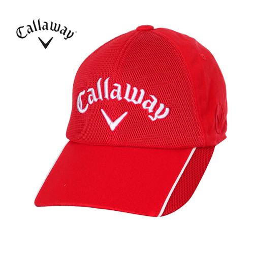 [캘러웨이]남성 에어메쉬 배색 캡 모자 CMACF1803-500_G