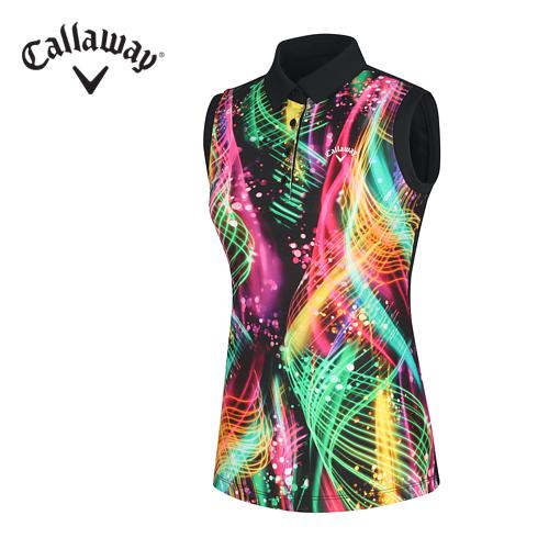 [캘러웨이]여성 네온 컬러 티셔츠 CWTYF6125-199_G