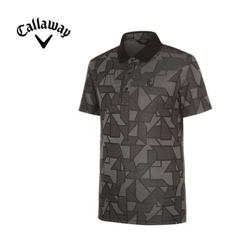 [캘러웨이]남성 트렌디 패턴 반팔 티셔츠 CMTPF2172-199_G