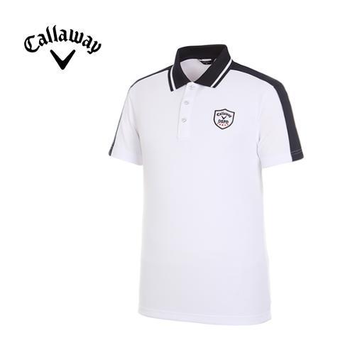 [캘러웨이]남성 데일리 카라 반팔 티셔츠 CMTPG2102-100_G