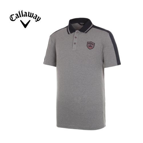 [캘러웨이]남성 데일리 카라 반팔 티셔츠 CMTPG2102-193_G