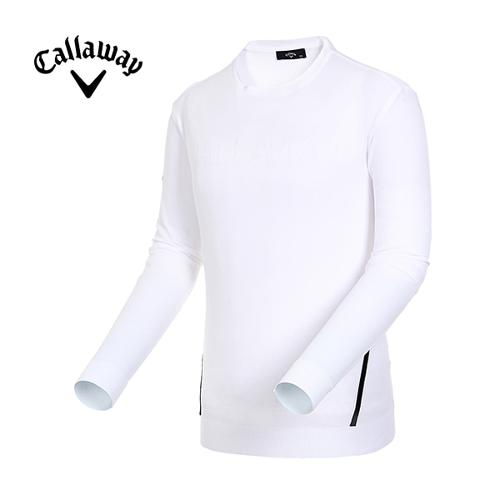 [캘러웨이]19SS 남성 라인 포인트 라운드넥 스웨터 CMSRI1121-100_G
