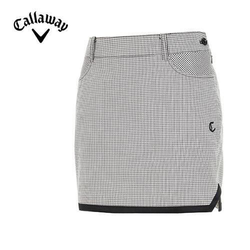 [캘러웨이]19SS 여성 체크 패턴 큐롯 스커트 CWPCI5392-190_G