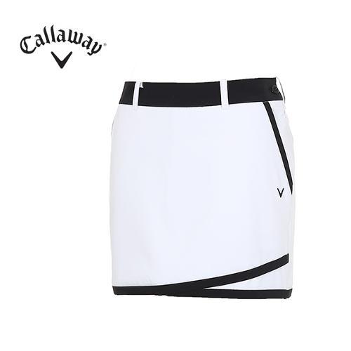 [캘러웨이]여성 배색 라인 포인트 큐롯 CWPCH6533-100_G