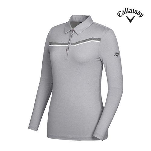 [캘러웨이]여성 띠포인트 카라 티셔츠 CWTYG5101-193_G