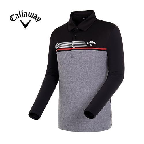 [캘러웨이]19SS 남성 컬러블록 스포티 냉감 티셔츠 CMTYI1244-199_G