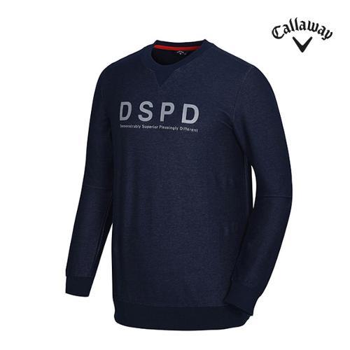 [캘러웨이]남성 레터링 프린트 맨투맨 티셔츠 CMTRG1173-915_G