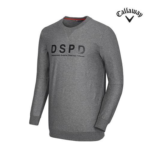 [캘러웨이]남성 레터링 프린트 맨투맨 티셔츠 CMTRG1173-193_G