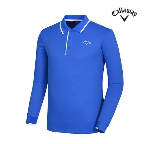 [캘러웨이]남성 카라 배색 포인트 티셔츠 CMTPG1101-906_G