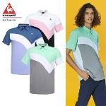 [20SS 신상]남성 스포티 곡선 배색 조직감 반팔 티셔츠 (G0221MTS43)