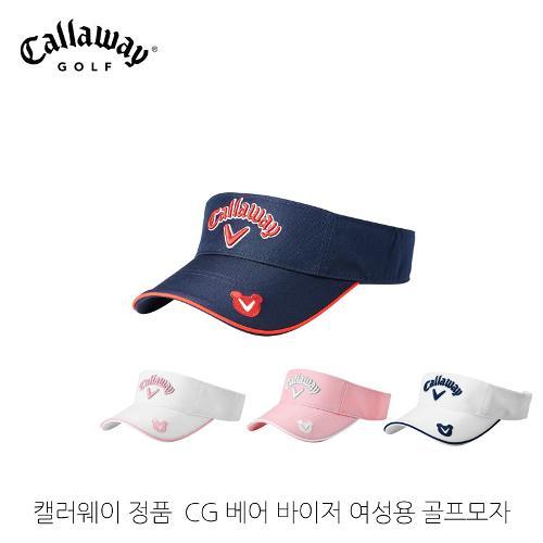 [한국캘러웨이골프정품]CG 베어 바이저 여성 골프모자