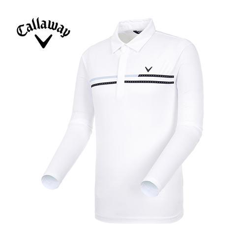 [캘러웨이]19SS 남성 도트 냉감 소매 티셔츠 CMTYI2263-100_G