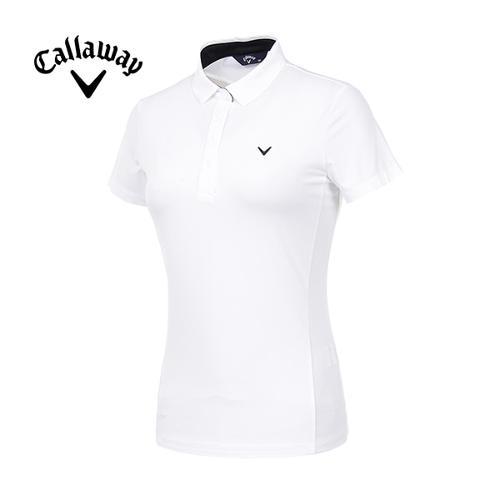 [캘러웨이]19SS 여성 메쉬 믹스 반팔 티셔츠 CWTYI6143-100_G