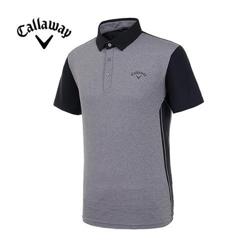 [캘러웨이]19SS 남성 사이드 펀칭 반팔 티셔츠 CMTYI2344-193_G