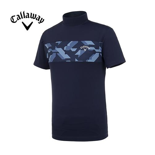 [캘러웨이]19SS 남성 블러킹 반팔 하이 티셔츠 CMTHI2252-925_G