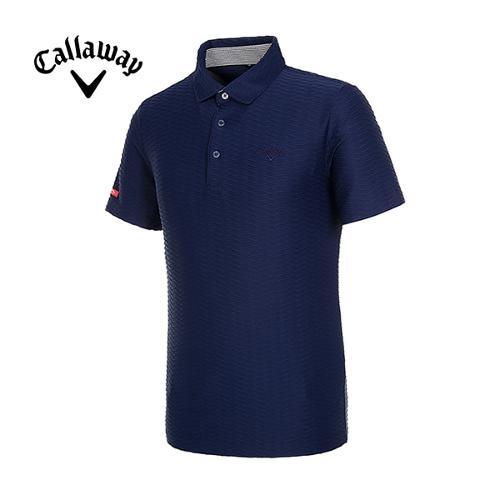 [캘러웨이]19SS 남성 엠보 패턴 반팔 티셔츠 CMTYI2368-925_G