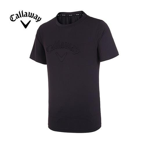 [캘러웨이]19SS 남성 엠보 로고 반팔 티셔츠 CMTRI2351-199_G