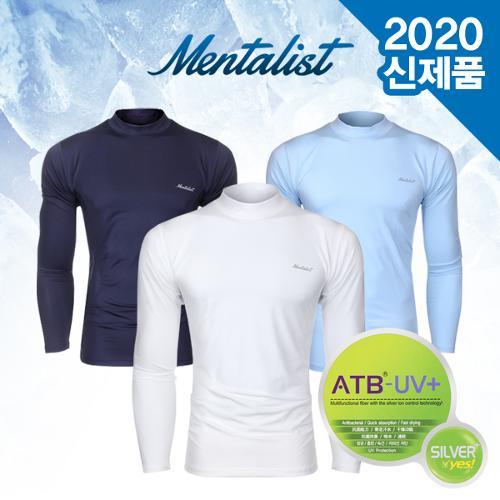 [2020년신제품]멘탈리스트 코오롱ATB UV+자외선차단 최고급원단 냉감 이너웨어 티셔츠-3종칼라