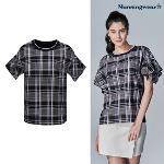 [먼싱웨어] [20SS]여성 뉴 라이프 반팔 티셔츠 (M0222LTS59)