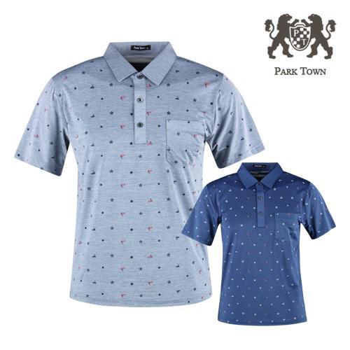 파크타운 아이스쿨 반팔 골프셔츠 RM20M422