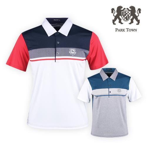 파크타운 아이스쿨 반팔 골프셔츠 RM20M416