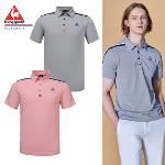 [20SS 신상]남성 투톤 소재 배색 냉감 반팔 티셔츠 (G0221MTS56)