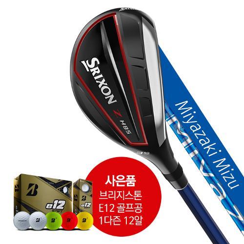 스릭슨 정품 H85 유틸리티우드 Miyazak + 브리지스톤 e12 골프공 1다즌